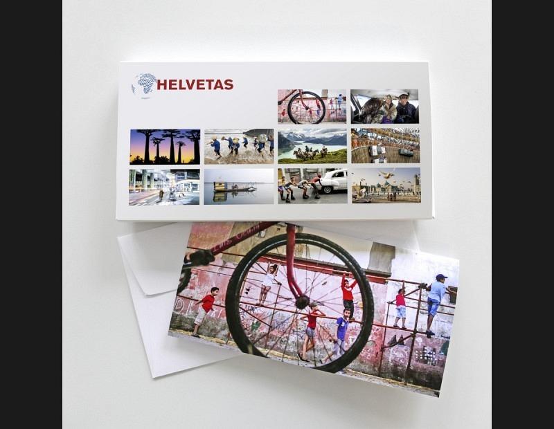 HELVETAS: KartenSet in Geschenkbox